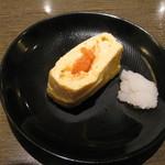 たかの家 - 出汁巻き卵焼き(明太子)