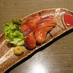 たかの家 - 炭焼きソーセージ(680円)