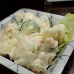 鶴亀 - ポテサラ