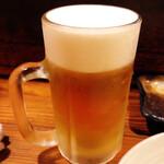 144505269 - 【生ビール中 ¥500】