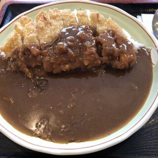 名取屋 - 料理写真:カツカレー
