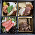 手打ちそばよし田 - 料理写真:季節の幕の内弁当〜冬〜@2,700