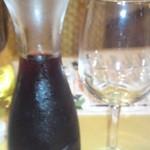 14451970 - 相方のデキャンタ赤ワイン
