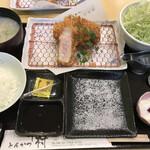 とんかつ中村 - 甘とろ豚ロース定食