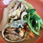 ビストロ プティル - インパクト大の野菜!どうよ?