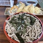 そば処 一茶 - 料理写真:天ざる850円