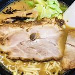 麺人佐藤 - 鶏白湯 醤油らー麺