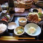 14452484 - 生姜焼き定食