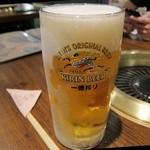 カウハウス - 生ビール