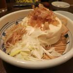 讃岐うどん 蔵之介 - 寄せ豆腐 (2012/08)