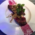 Restaurant AQUA Table - ミスジのグリル 赤ワインソース