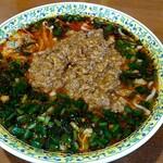 らーめん勘四郎 - 料理写真:ニラ坦々麺