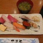 寿司 やまと - 握り十貫¥980-