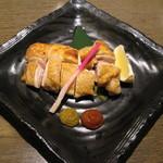 たかの家 - もも肉の塩焼き(780円)