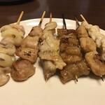 惣菜なかふじ - 焼き鳥と塩焼き