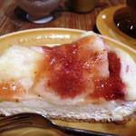 ア・ラ・カンパーニュ - いちじくのタルト。とっても美味しい。