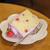 ラ・ファミーユ - 料理写真:フランボワーズのシフォン(520円)