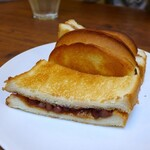 喫茶 まつば - 元祖小倉トースト