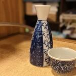 観音食堂 - 日本酒熱燗