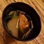 96 NIKUHOLIC - 牛出汁と鰹出汁のスプーン