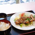 TAMAMIYA - から揚げ定食