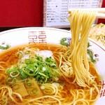 中華そば 駒 - 麺はカタメでお願いしました