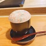 144552099 - 雲子(鱈の白子)の茶碗蒸し