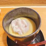 144552108 - 雲子(鱈の白子)の茶碗蒸し
