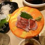 みなと 刺身専門店 - 「炙り金目鯛」