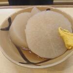 魚三酒場 - 大根煮