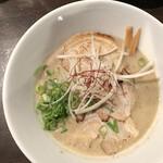 麺屋28 - 鶏とろチャーシュー 1,000円