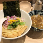 中華そば 竹むら - 鶏と煮干しのWスープつけ麺930円