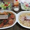 カリーナバンビーノ - 料理写真:ランチセット×2 サラダがついて850円