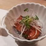 かまた寿司 - あん肝の甘煮