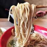 144577915 - 風神とんこつ 麺カタ 麺リフト