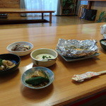 やませみ荘 - 料理写真:夕食です。おt料理のボリュームは大満足!