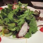 Spain bar Sebasuke - 明石鮹とオリーブのサラダ