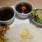 デリー - 料理写真:カシミール食べ比べ
