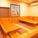 元祖武蔵野うどん めんこや - 団体のお客様・ご家族連れのお客様用に座敷席もご用意!