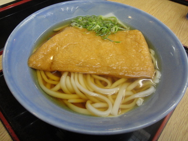 阪急そば若菜 十三店 - きつね