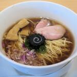 らぁ麺 はやし田 - 焼鯵煮干しそば850円