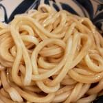 しんぺいうどん - 麺アップ