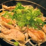 1446140 - 国産鶏ハラミの黒胡椒焼