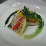 SALA - ディナーメニュー お魚料理(週替わり) ¥870