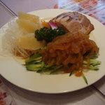 1446594 - 気仙沼産フカヒレ刺身入り前菜