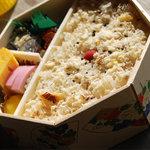 瓔珞 - 料理写真:鯛ごはん弁当