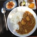 美美庵 - 田舎カレー(700円)