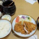 とんかつ うちの - ・「上ロース定食(¥1410→¥990)」