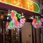 南大門 - ねぶたの花笠