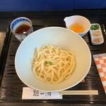 麺一滴 - 釜たまうどん 550円(税込)